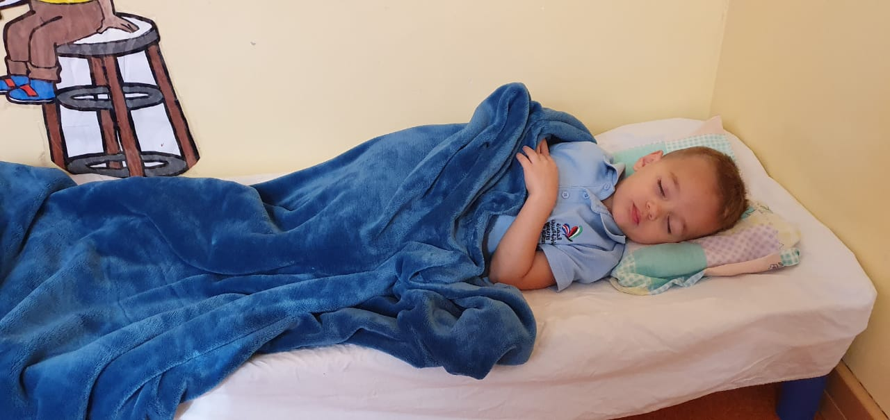 EbN Blog Banner Sleep Routines for toddlers